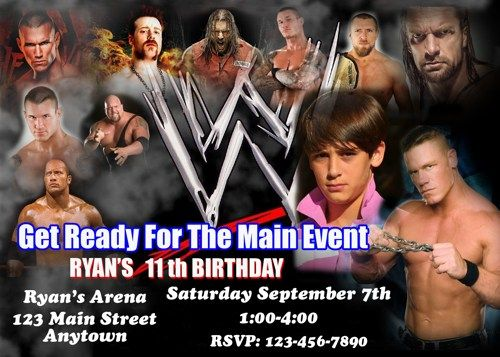 princess birthday invitation | wrestling birthday, birthdays and, Birthday invitations