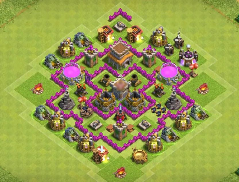 Strong Coc Base Th 6 10