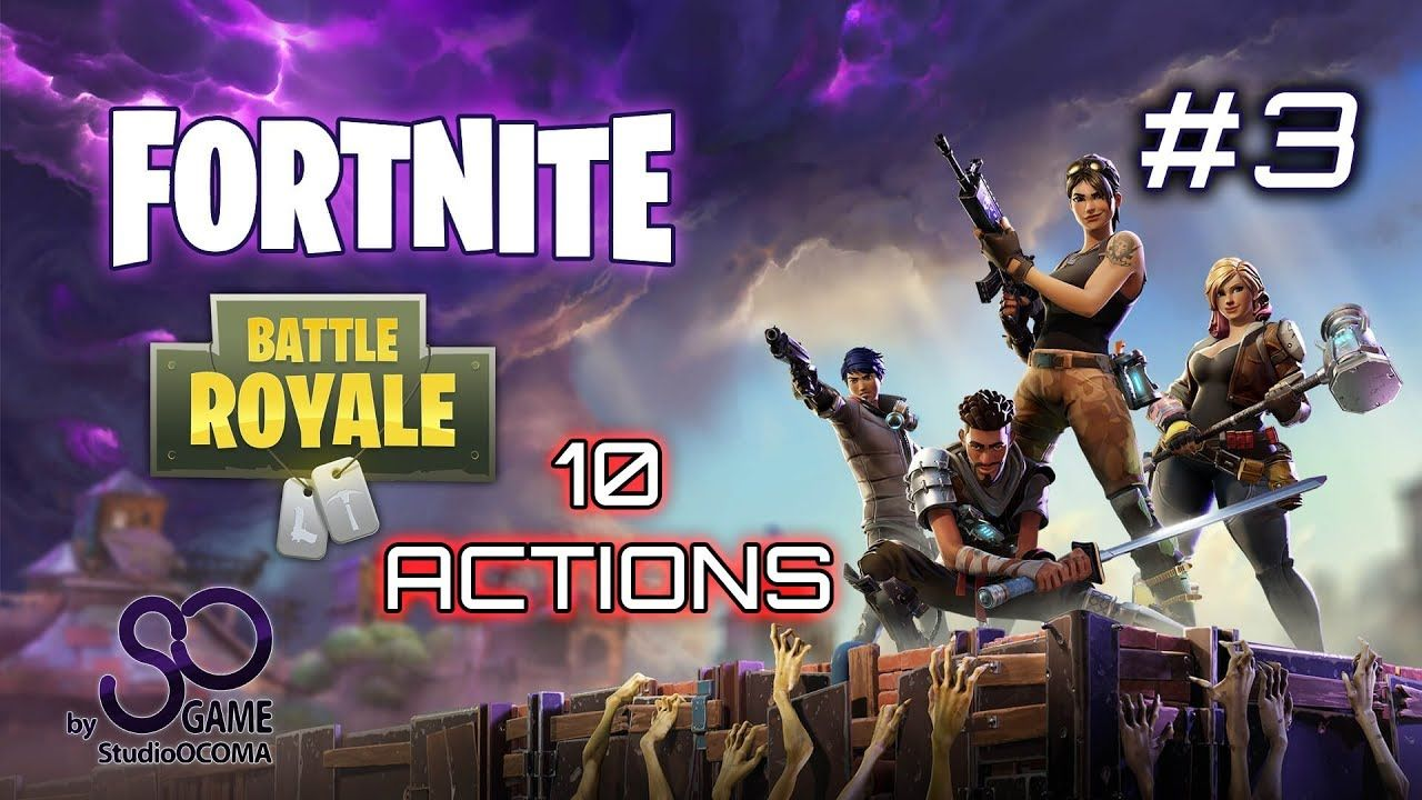 10 Amazing Actions Sniper On Fortnite Battle Royale On Ps4 Pro