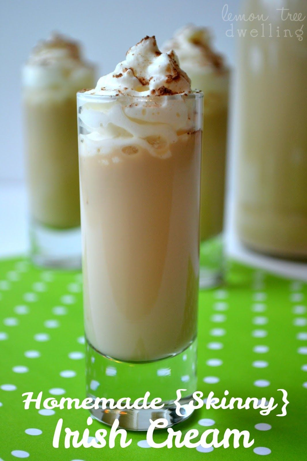 Skinny {Baileys} Irish Cream from Lemon Tree Dwelling