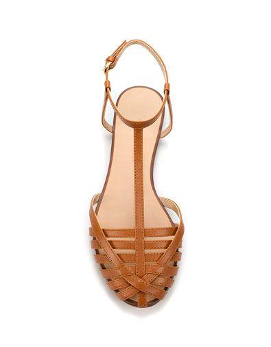 Zara Mujer Trenzada MéxicoPlaya Cangrejera Zapatos Kl1JTFc