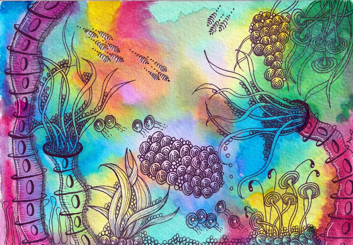 Guest artist the zen of artangleology by alice hendon