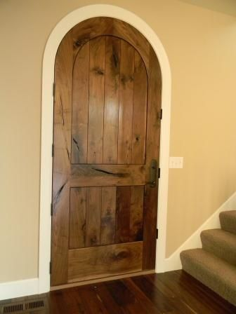 Extreme Character Walnut Entry Door [Balsam Wide Plank]