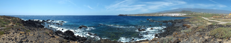 Panorámica. Los Abades, Arico. Tenerife. Islas Canarias. Spain.  [By Valentín Enrique].
