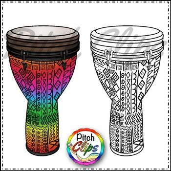 Djembe Drums Clipart Clip Art Commercial Use Smart Ok Clip