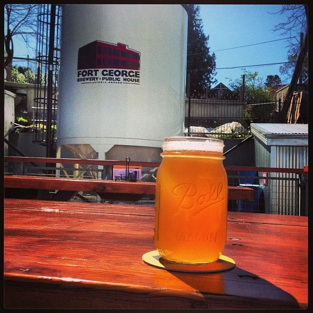 "Its ALWAYS a ""Sunny Day"" at Fort George Brewing."