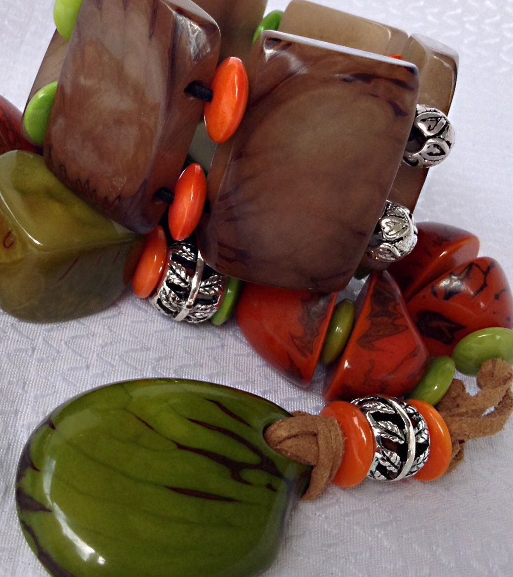 Feel the Caribbean Vibe. From Nature's vibrant Palette to exciting Eco Jewelry. Organic Eco Friendly Tagua Jewelry. Come check out my Etsy Shop for lots more inspiration! http://etsy.com/shop/tropicaaccessories?ref=_shop