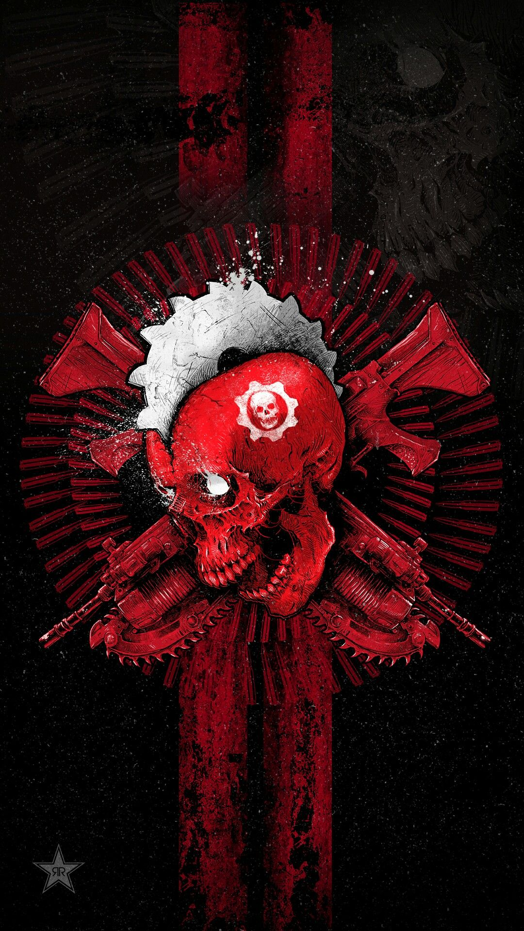Godmachine Gears Of War 4 Energy Drink Arte De Videojuegos Videojuegos Wallpaper Fondo De Juego