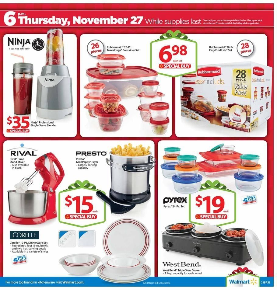 Walmart Black Friday Ad Scans and Deals | Computer Crafters | Black ...