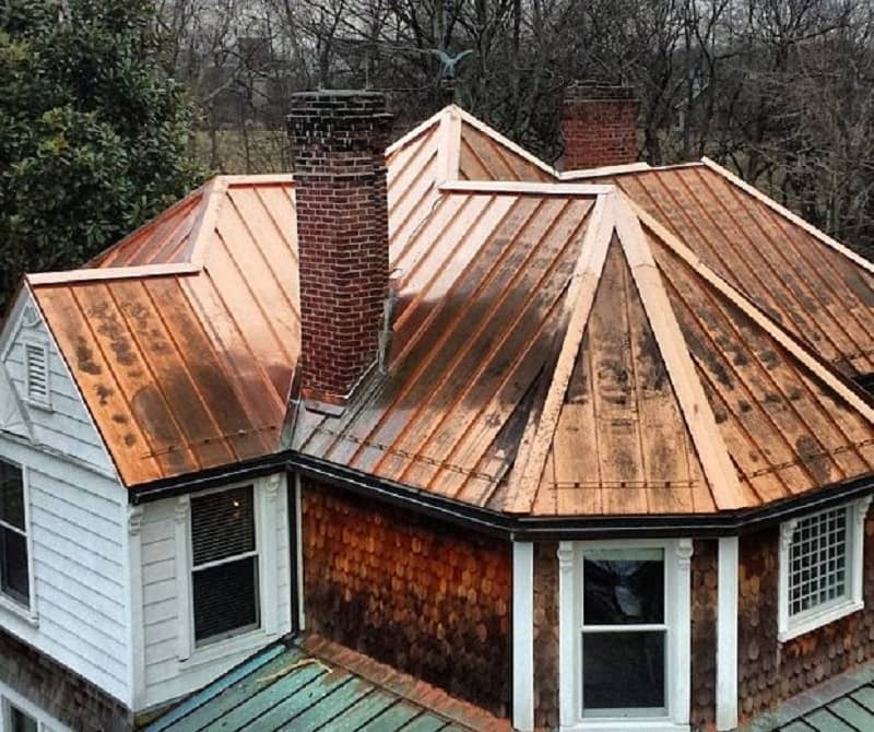 Types Of Metal Roofing In 2020 Metal Roof House Styles Roofing