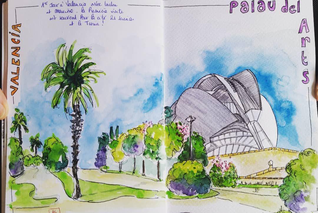 Projet 2020 Organiser Un Stage De Dessin A Valencia Artwork