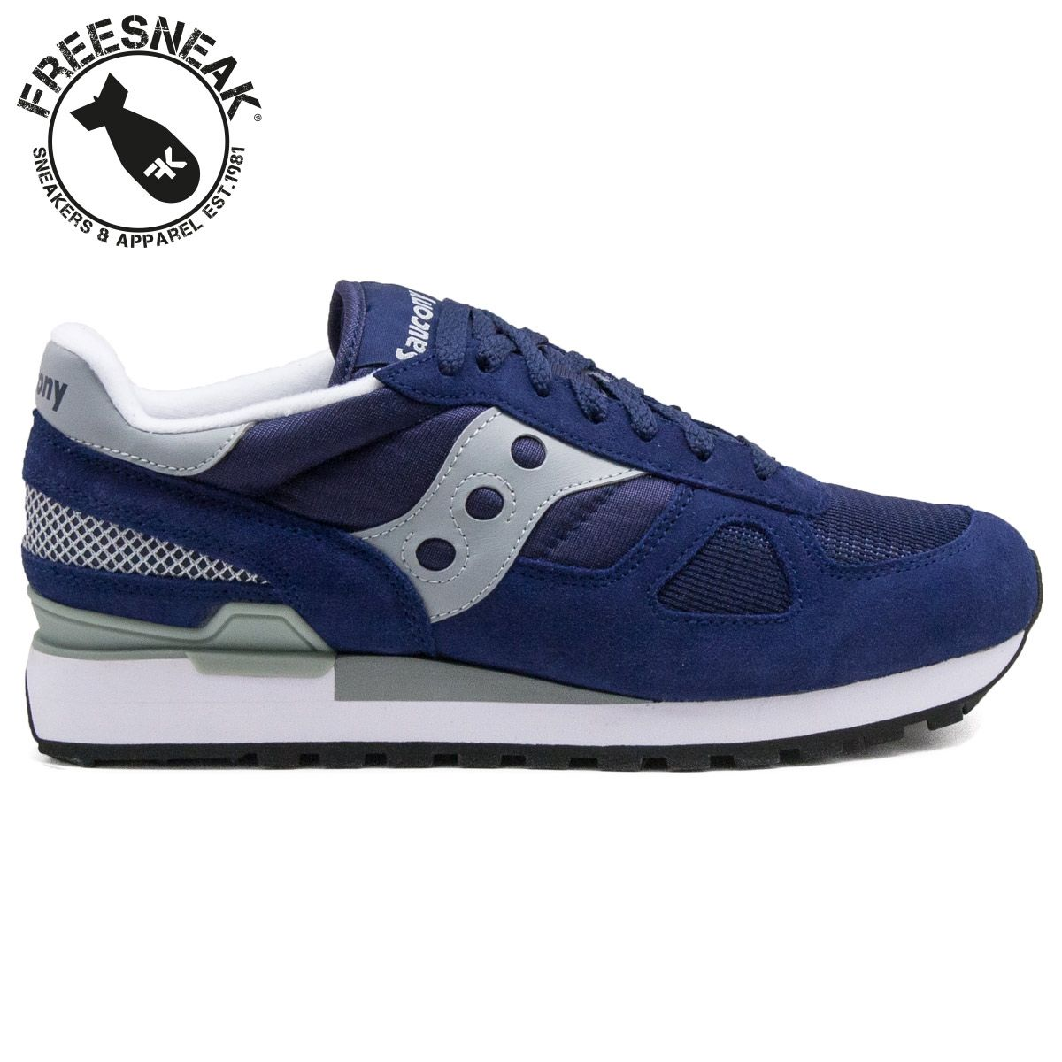 saucony shadow grigie e gialle