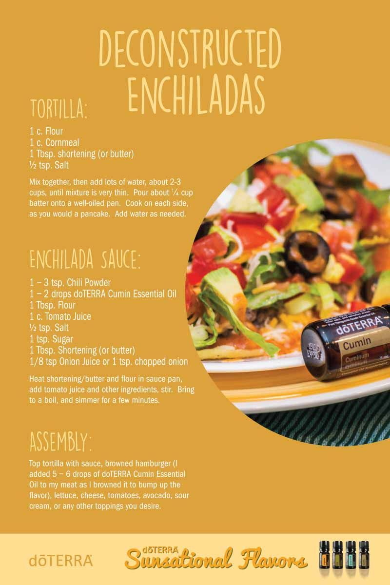 Deconstructed enchiladas with cumin essential oil httpswww hmmmm the page you are looking for cannot be found dterra essential oils forumfinder Images