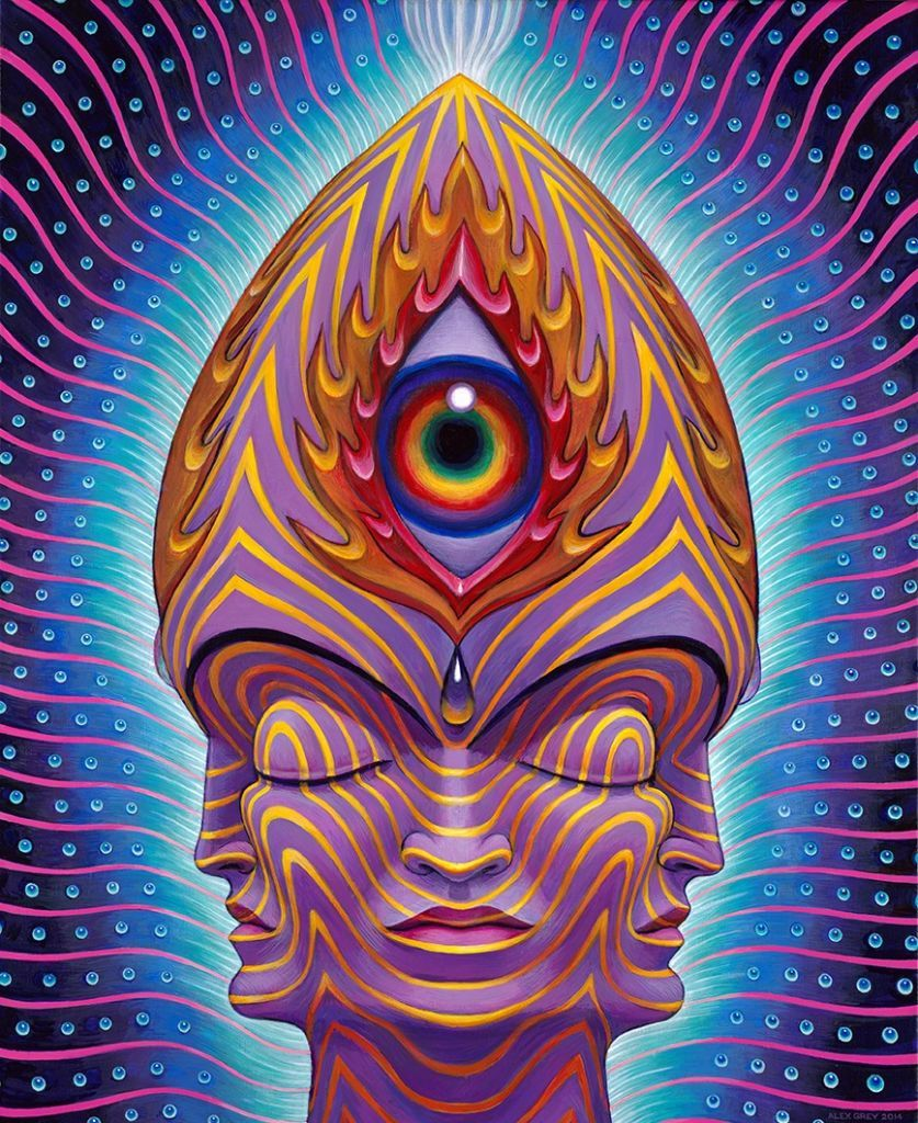 efa55a7d2 The magical Alex Grey third eye painting | Daniel grubb in 2019 ...