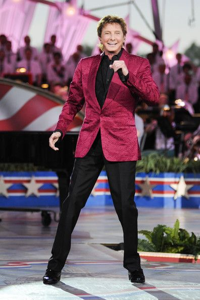 Barry Manilow Barry Manilow performs during a rehearsal for the 'A Capitol Fourth 2013 Independence Day Concert' on the West Lawn of the US ...