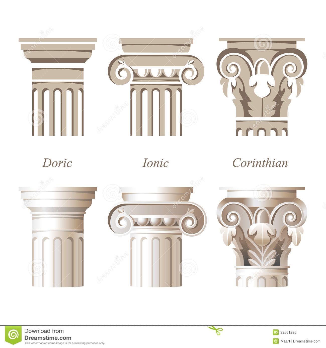 types de colonnes recherche google ha ordre architectural pinterest art grec grec et. Black Bedroom Furniture Sets. Home Design Ideas