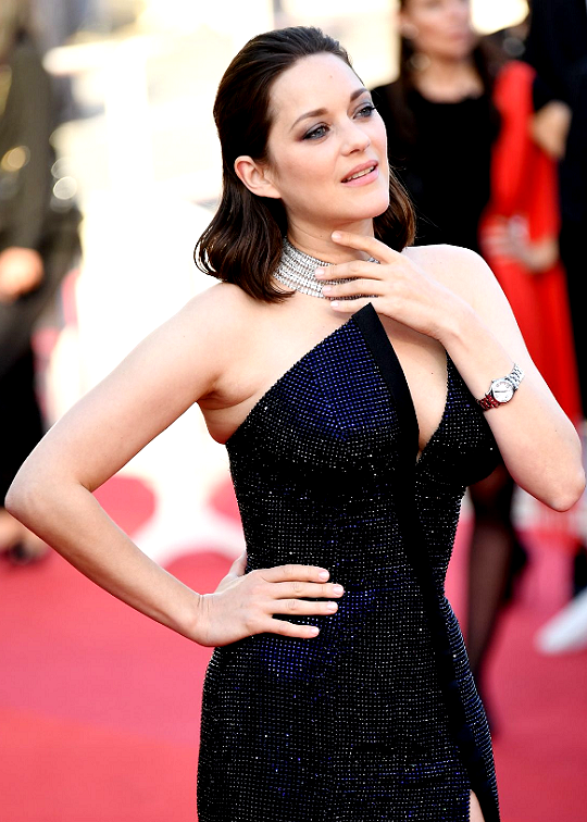"""marioncotillardaily: """"  Marion Cotillard attends the 70th Anniversary of the 70th annual Cannes Film Festival at Palais des Festivals on May 23, 2017 in Cannes, France. """""""