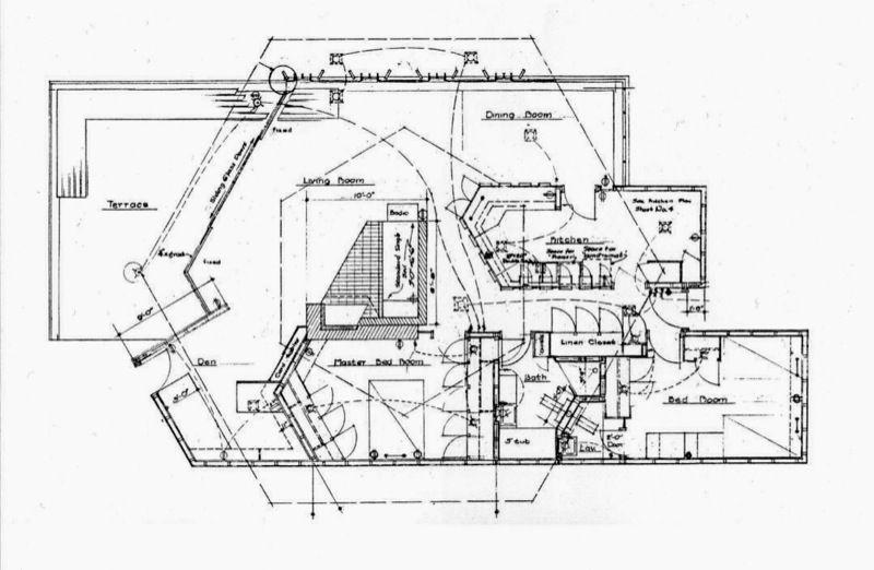 John Lautner Jacobsen House Floor Plan Parson