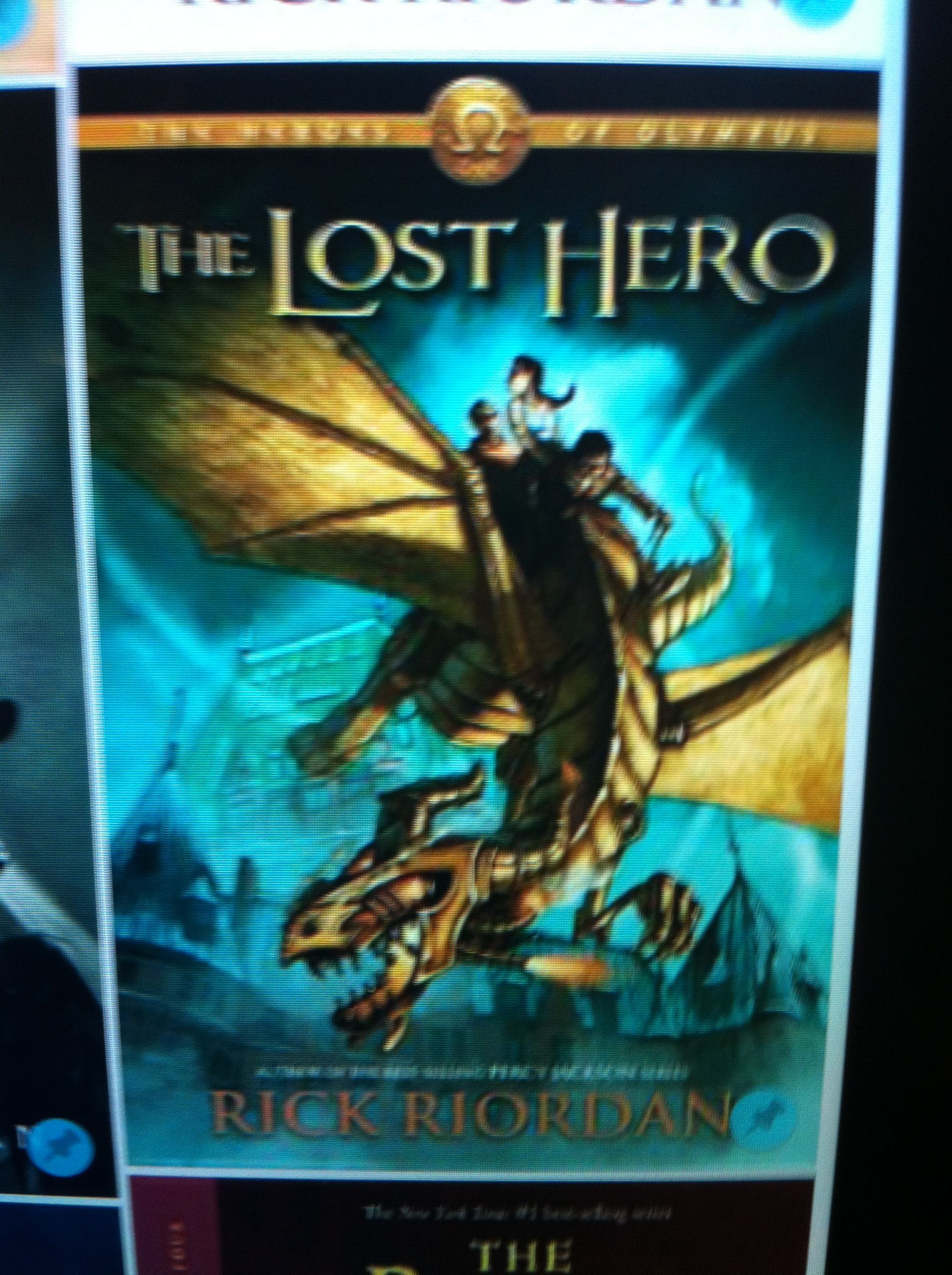 A new series called the heroes of olympus the lost hero