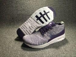 Beautiful Nike Air Max Thea Ultra Flyknit Dark Purple White Women s Running  Shoes Training 881175 c24b149f96