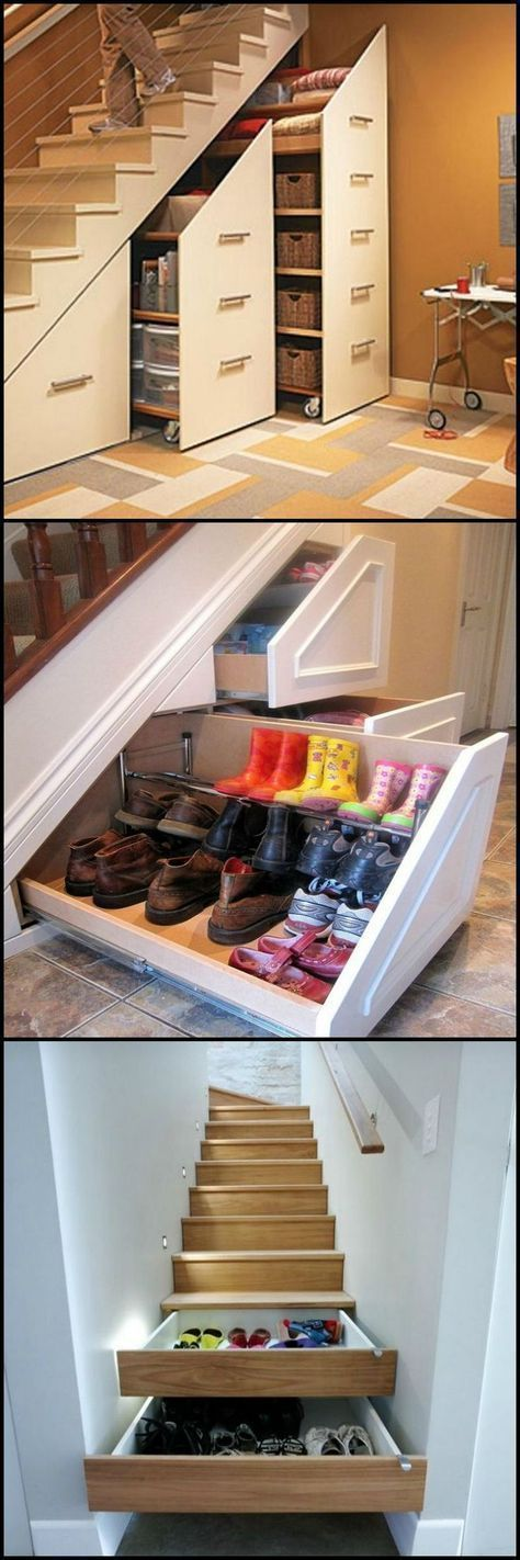 20+ Staircase Space Idea Creative Ways To Use - Lumax Homes #staircaseideas