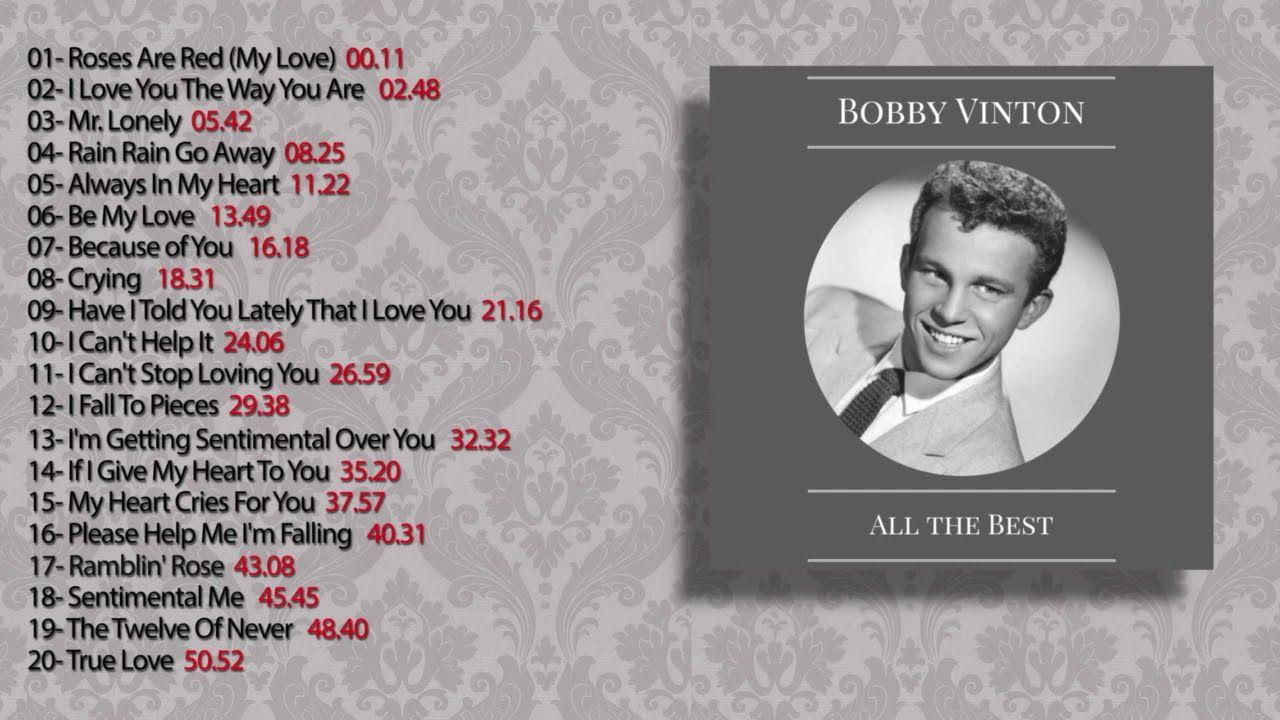 Bobby Vinton All The Best Full Album Bobby Vinton My Love