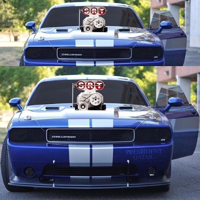 Dodge Challegener Srt8 With A Super Blower This A True Power