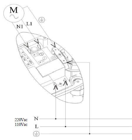 Cхема подключения Brio-2000