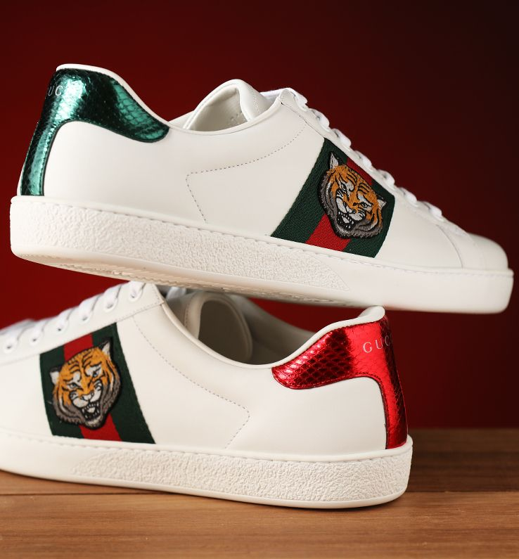 best website c0e5c bac96 Gucci Men s Sneakers • Spring Summer 2017 Collection Zapatillas Gucci Hombre,  Zapatos Gucci,