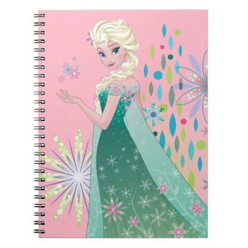 Summer Wish With Flowers Notebook