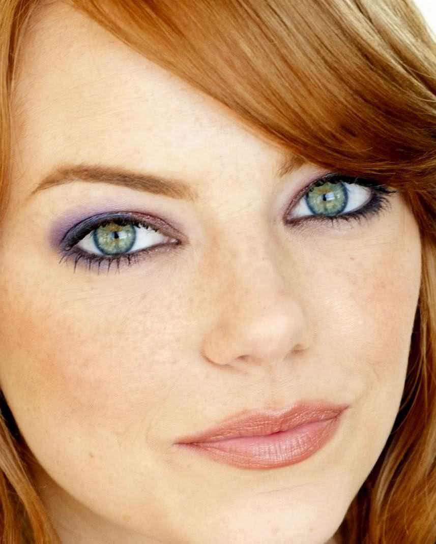 Emma Stone 3 Beautiful Eyes Emma Stone Makeup For Green Eyes