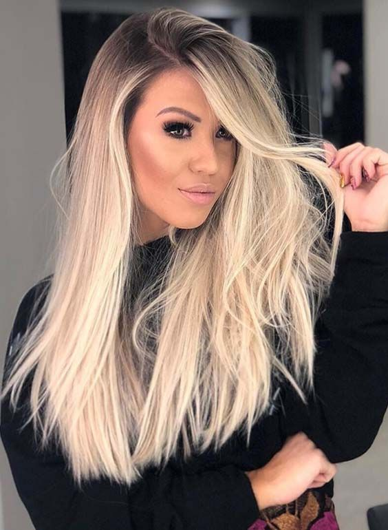 Sensational Long Blonde Hairstyles Trends To Wear In 2018 Long