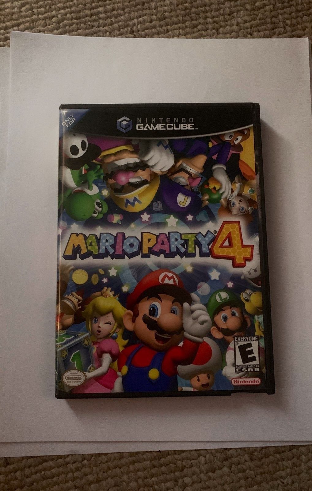 Mario Party 4 For Nintendo Gamecube Tested To Work With Instruction Booklet Included Mario Party Gamecube Party