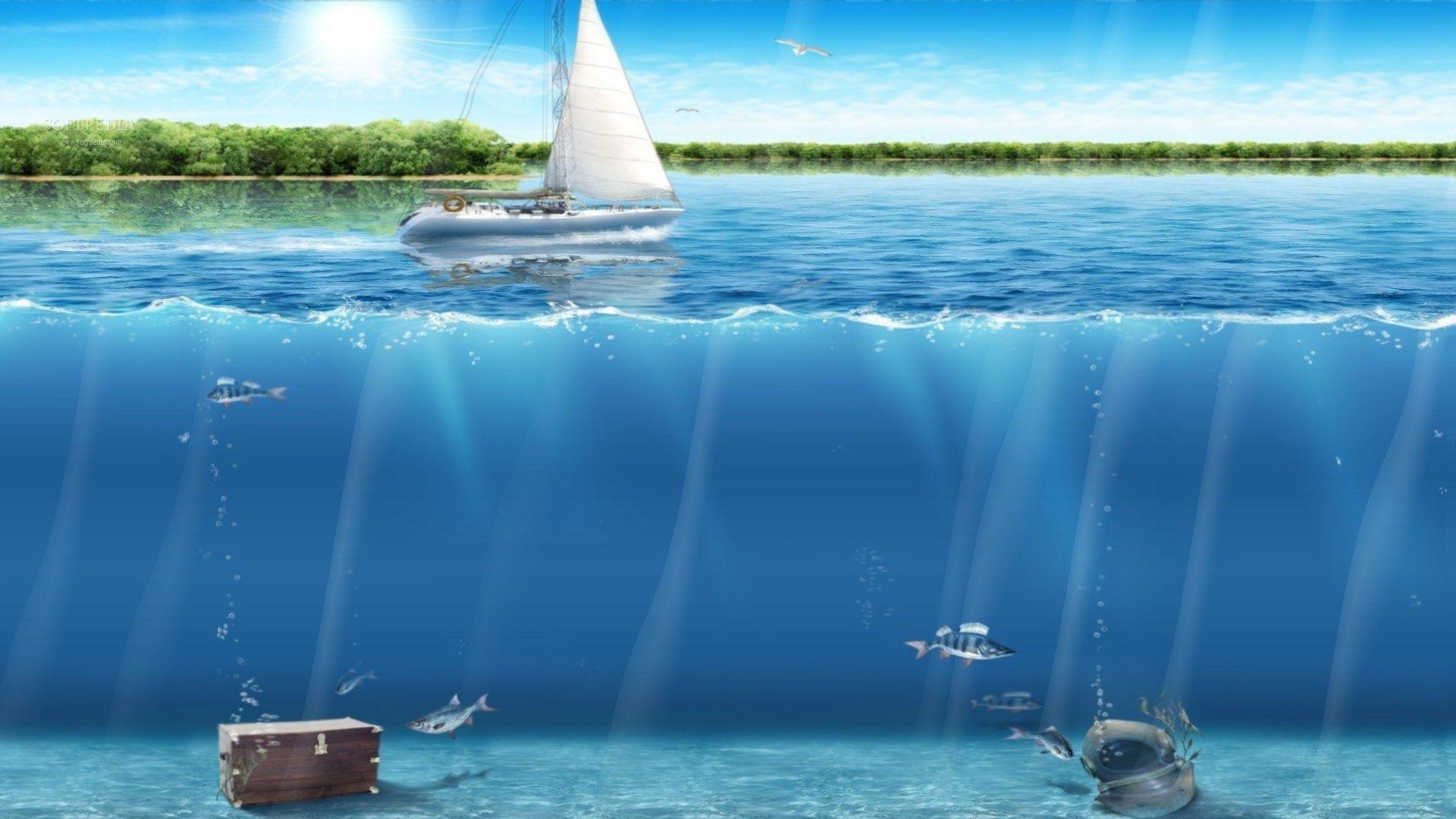 ocean themed wallpaper for desktops | ololoshenka | pinterest | ocean