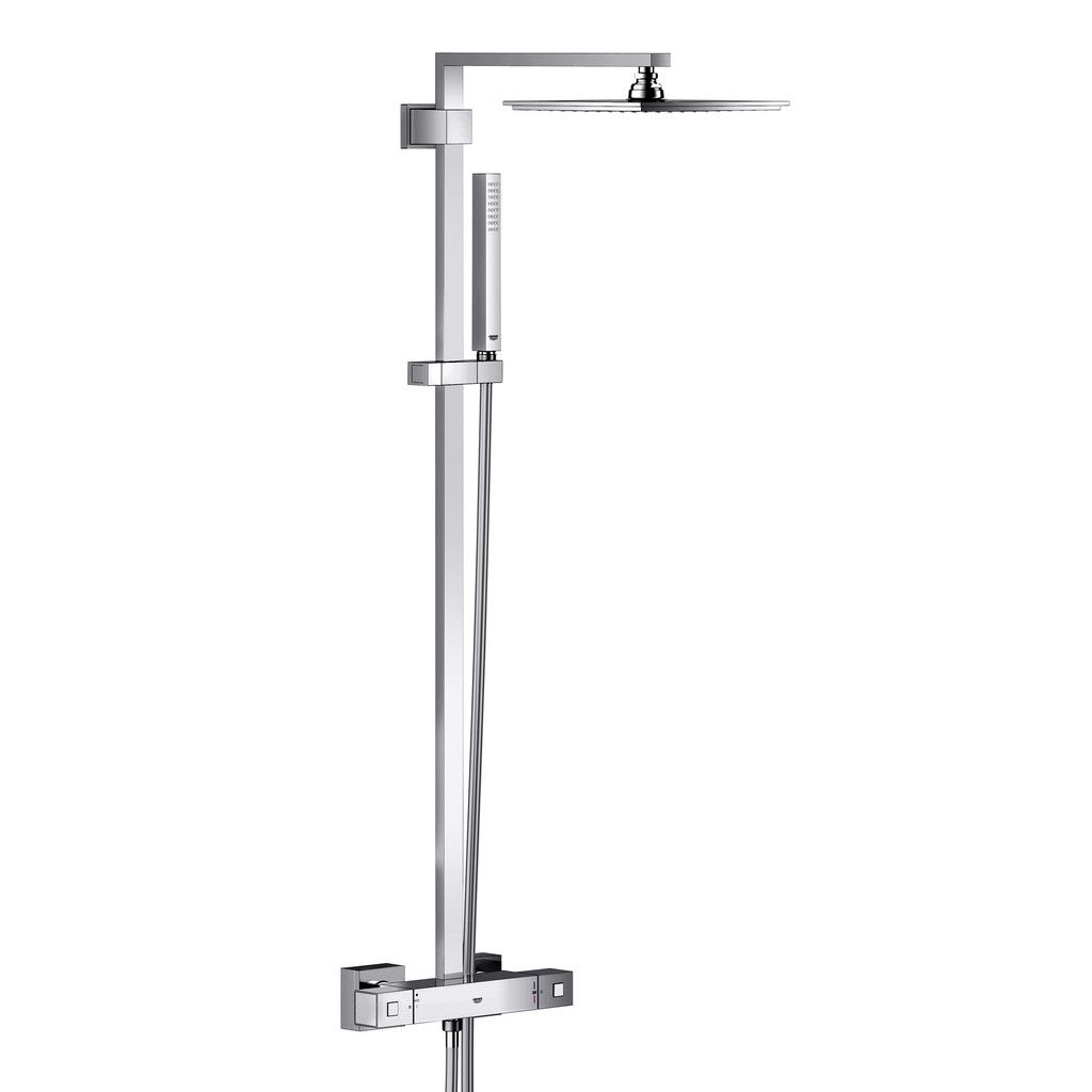 grohe euphoria cube xxl system 230 shower system with mixer for wall mounting