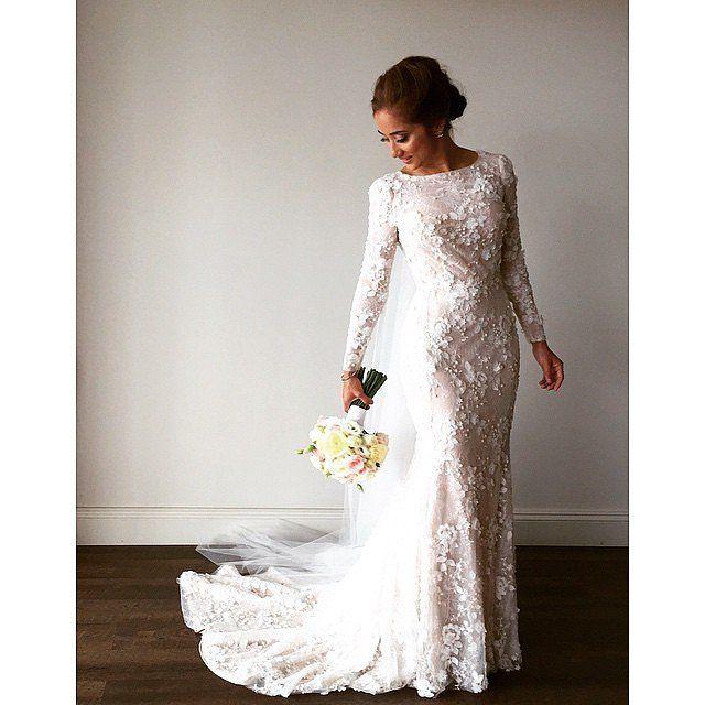 25 traumhafte Hochzeitskleider, bei denen ihr keine Haut zeigen ...