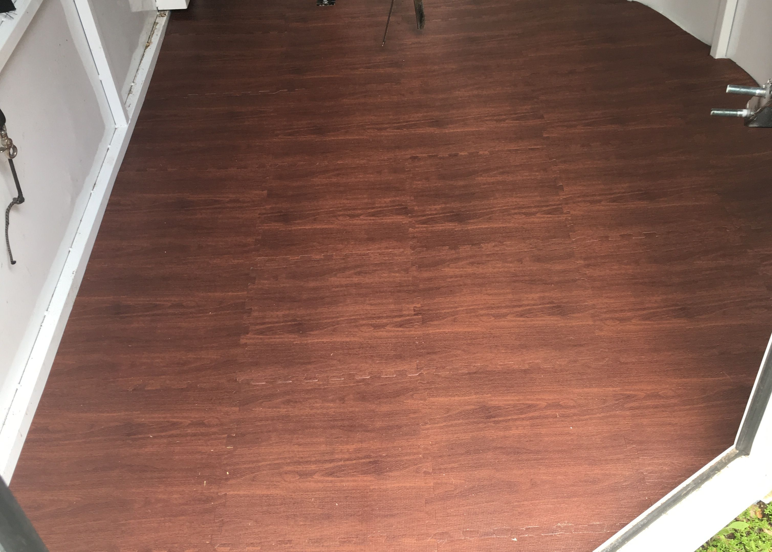 Do It Yourself Replace Your Trailer S Tack Room Flooring Tack Room Horse Trailer Living Quarters Room Flooring