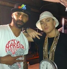 Eminem Helped Joe Budden Get Sober Eminem Eminem Photos Eminem Rap
