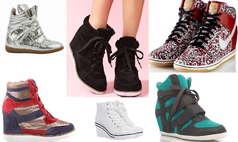 nike hidden heel trainers