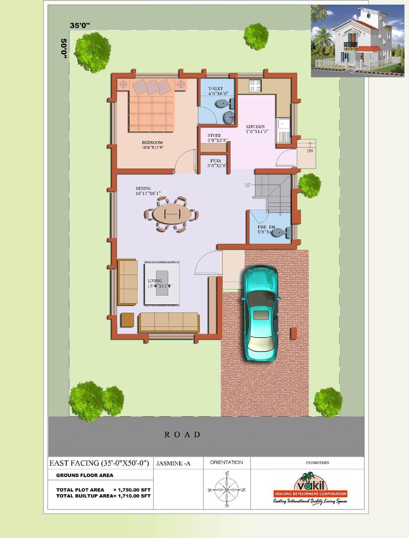 Vastu House Plans 20 X 50 West Facing Vastu House House Plans With Photos House Plans
