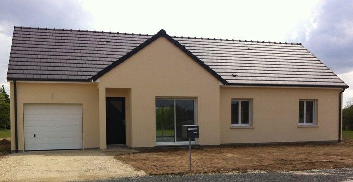 A vendre maison 3 chambres à Dozulé Projet à construire neuf en RT - modeles de maison a construire