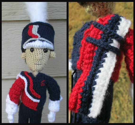 Custom Marching Band Member by kraftykatskrochet on Etsy