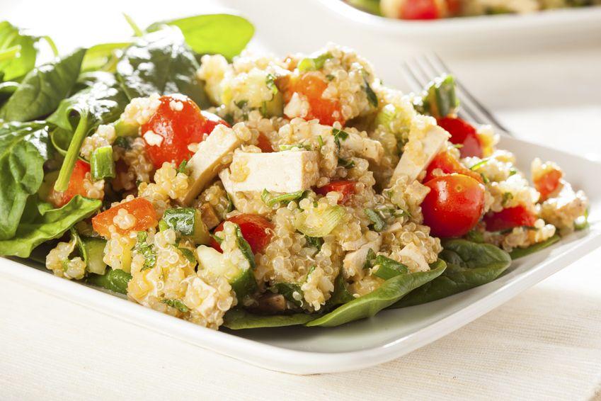 Engorda la quinoa por la noche