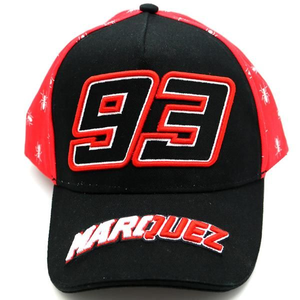 Marc Marquez 93 Moto GP Black Baseball Cap Official 2017  e9972332260