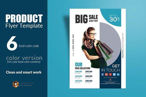 Product Flyer Template  Flyer Template Template And Font Free