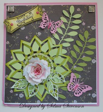 Happy Birthday by Selma - Cards and Paper Crafts at Splitcoaststampers