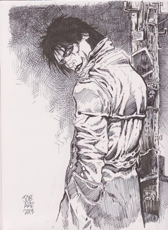 The Crow James O'Barr Comic Art