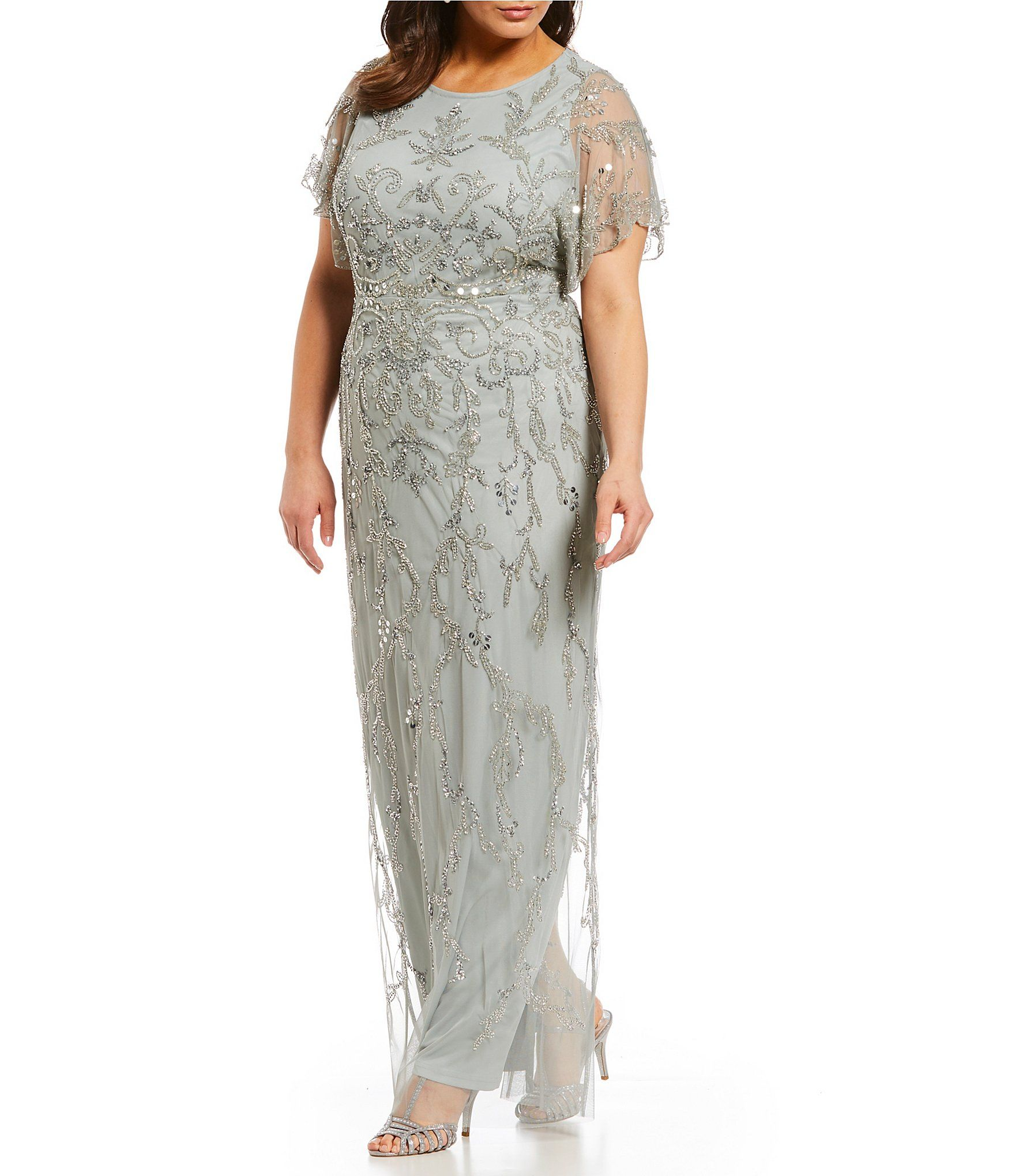 Mother Of The Bride Dress Plus Size Dillards