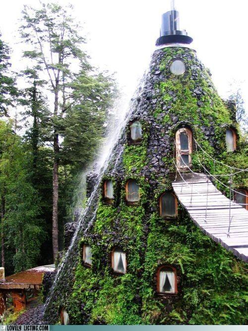 Magic Mountain Lodge in Chile