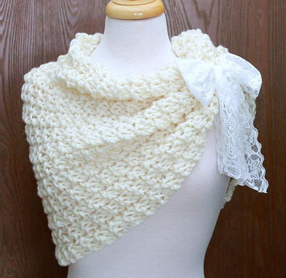 Oversized Cowl Infinity Scarf Wool Wrap Womens Hooded Scarf Cream ...